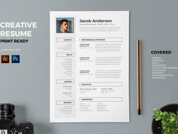Creative Professional Resume