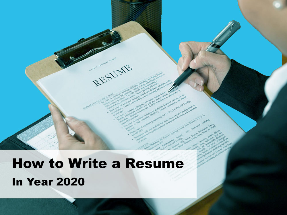 how-to-write-a-resume-in-year-2020