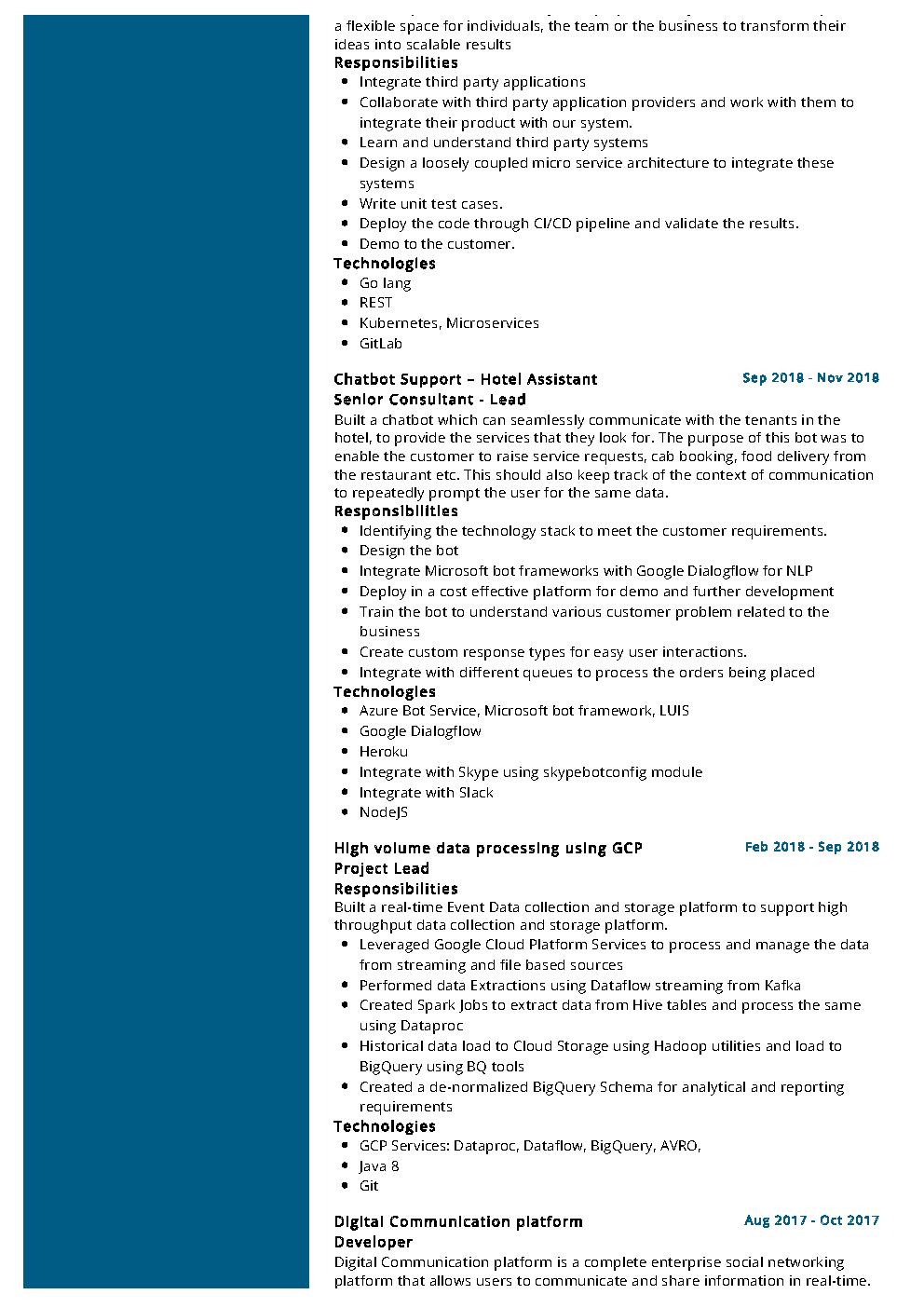 google cloud architect resume example  u0026 writing tips