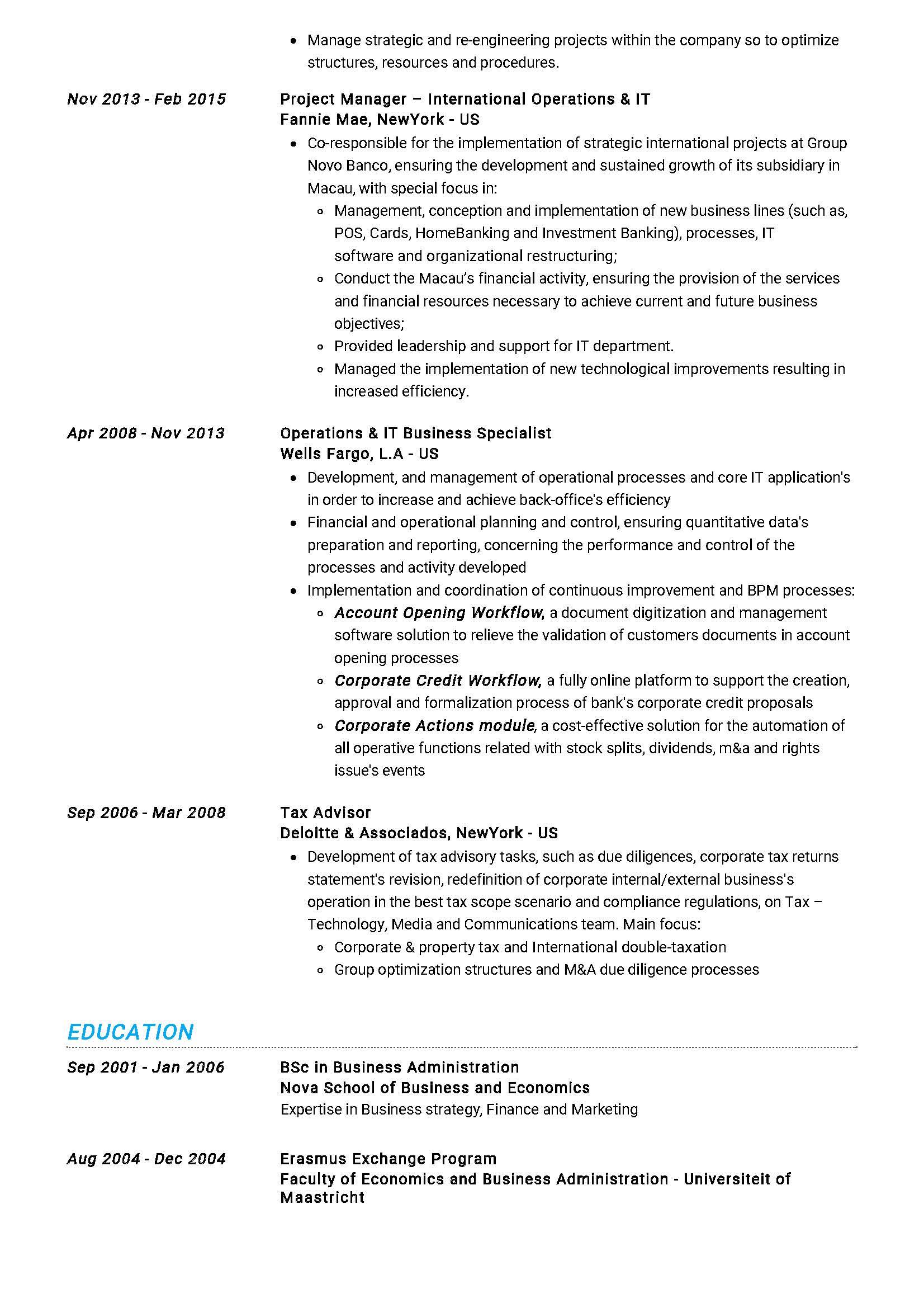 Project Manager Resume Sample Writing Tips 2020 Resumekraft
