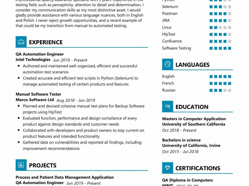 Quality-Assurance-Resume