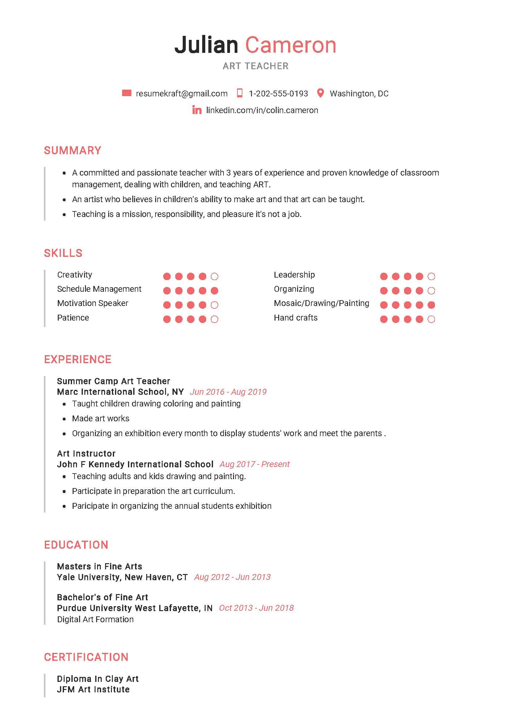 Resume writing service for teachers | blogger.com