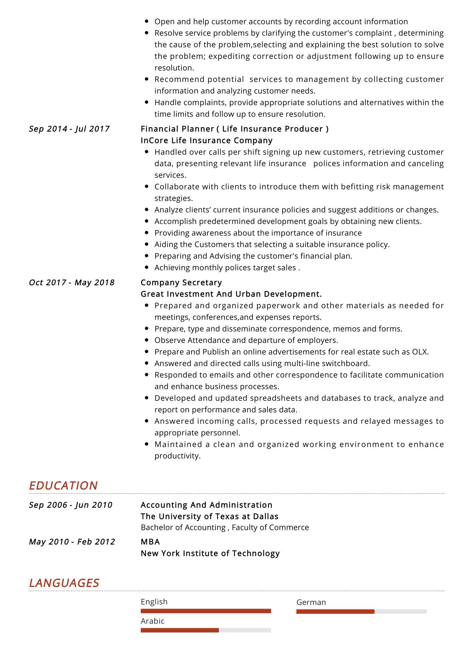 junior accountant resume sample  resumekraft