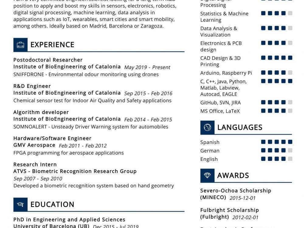 Computer Scientist Resume