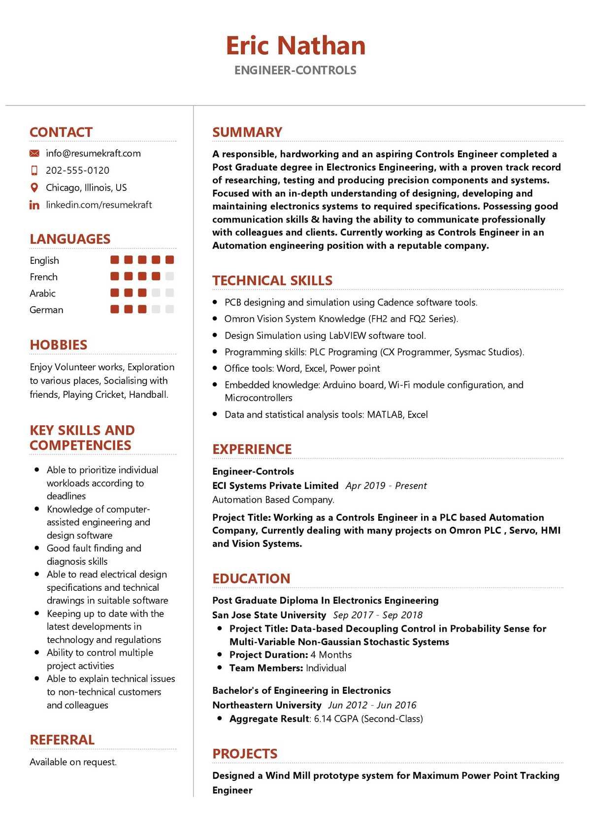 engineering resume examples 2021  resumekraft