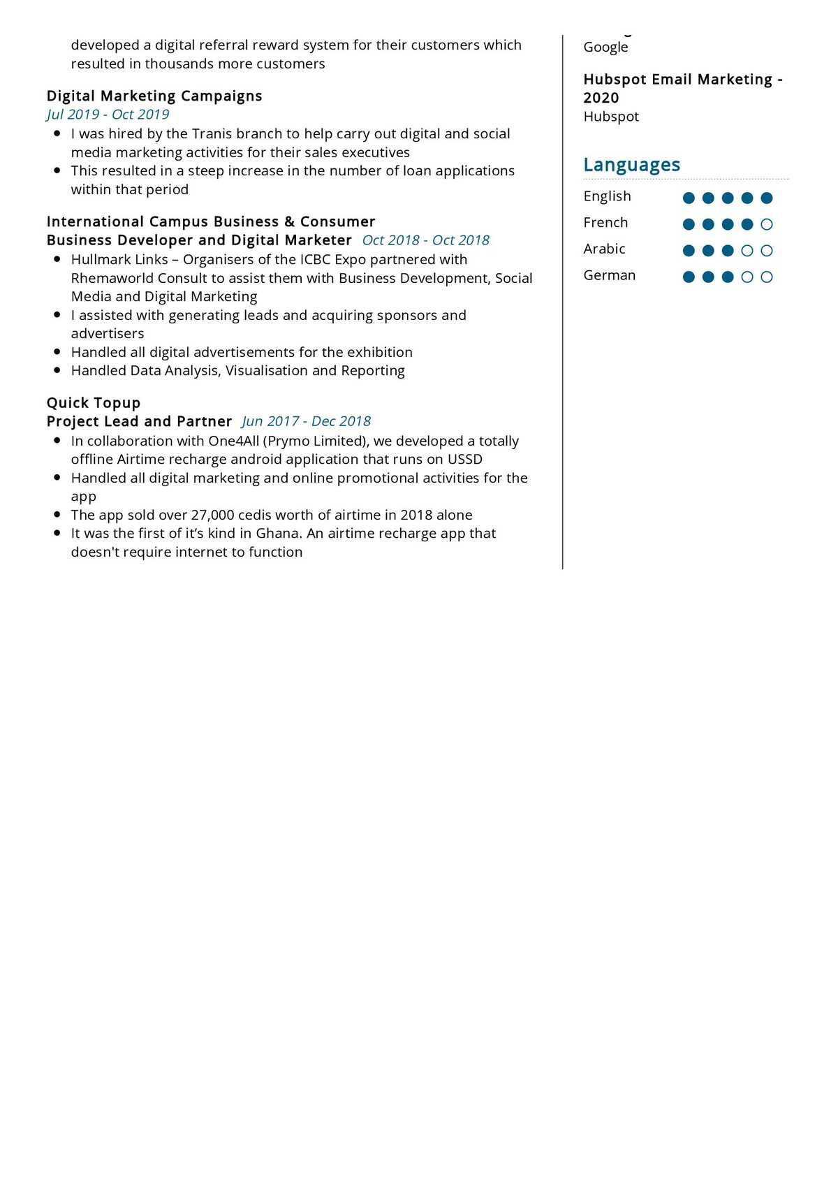 social media strategist resume sample 2021  writing tips