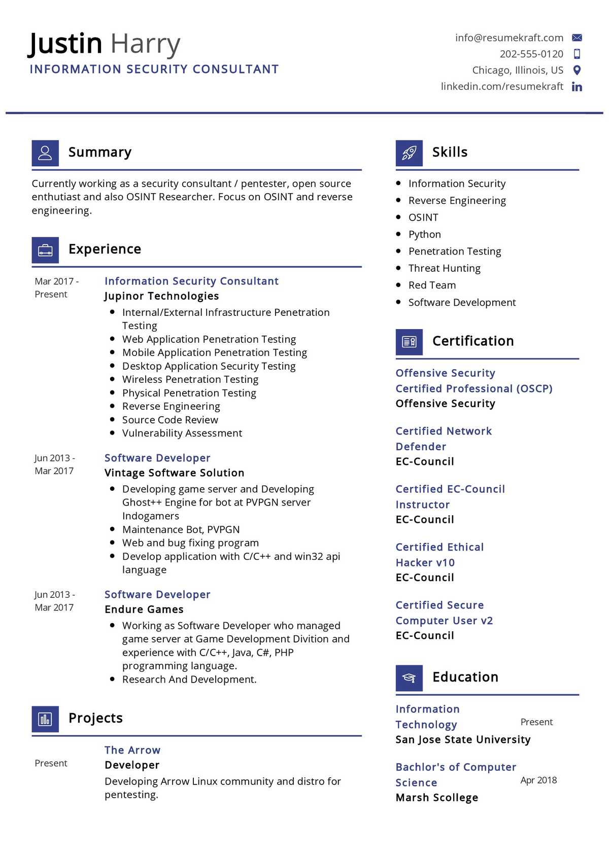 It security consultant resume an invention that changed the world essay