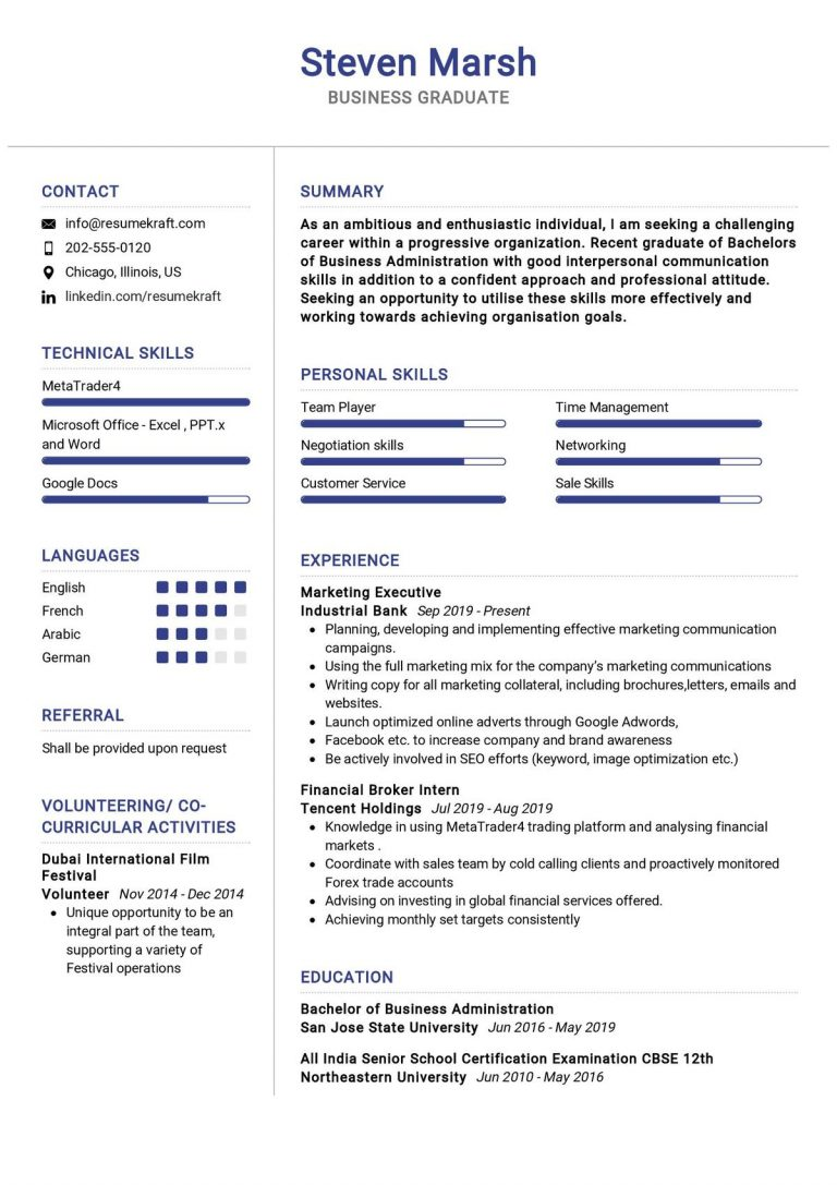sales and marketing resume samples 2021  resumekraft