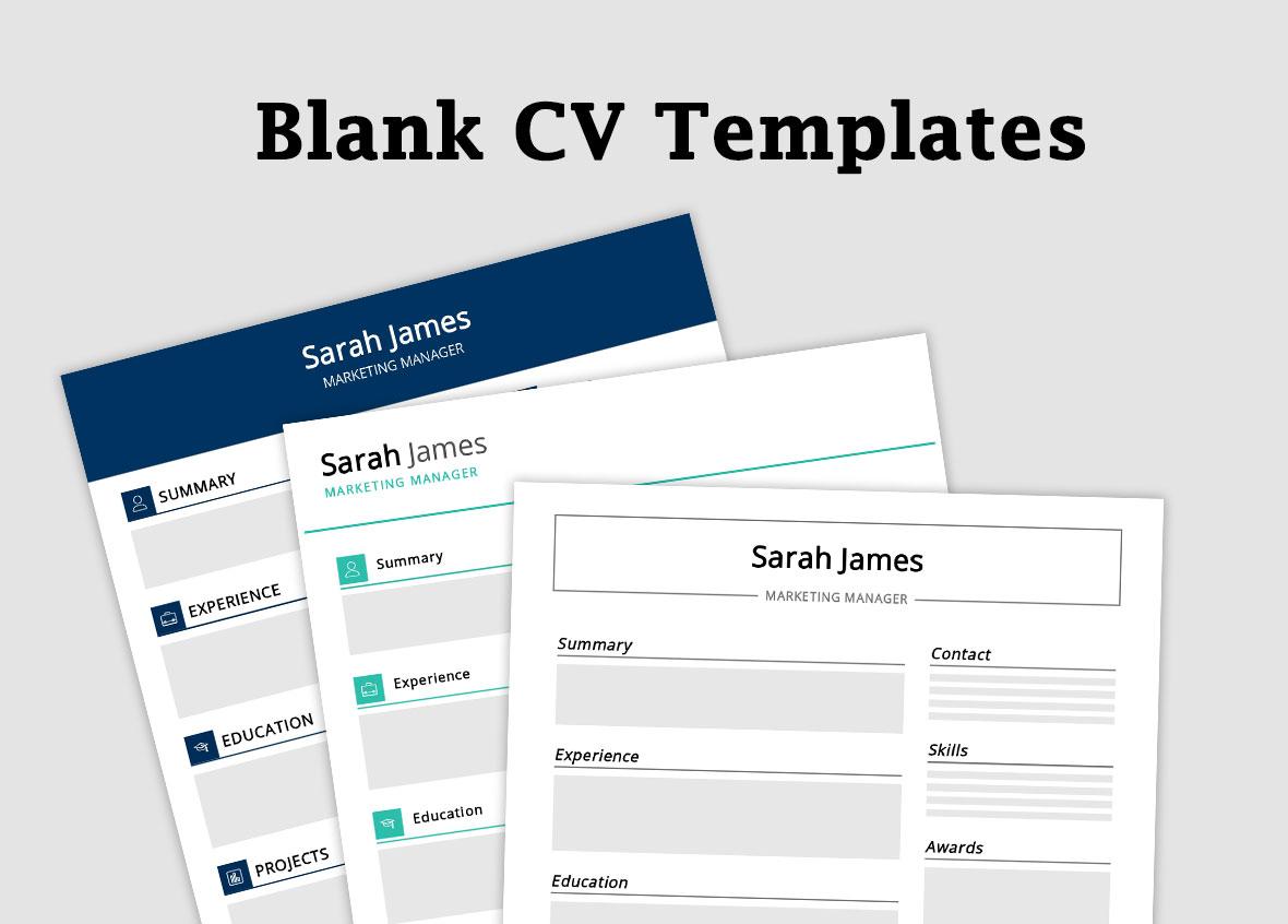 blank-cv-template-free