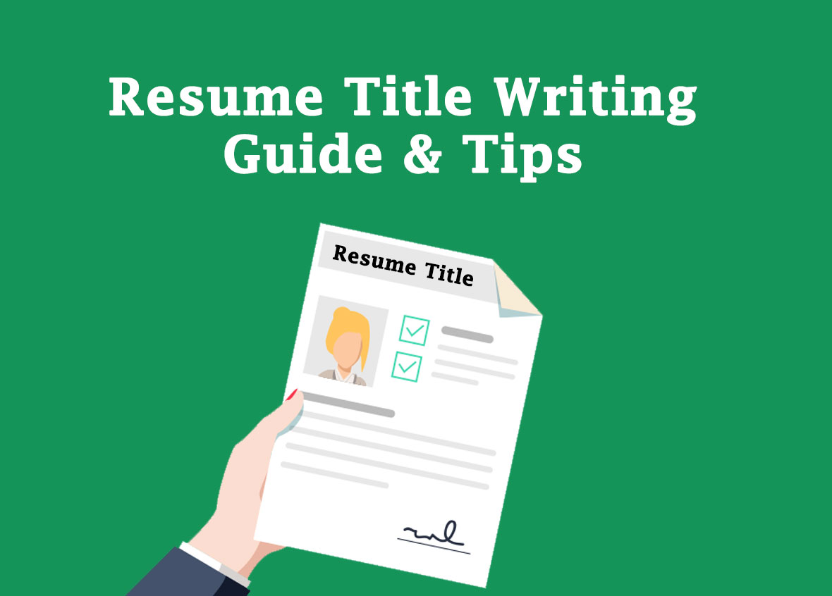 resume-title-writing-tips