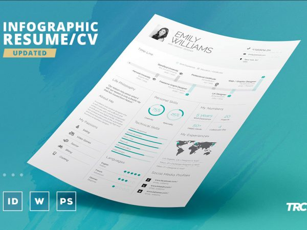 Infographic CV Resume Template