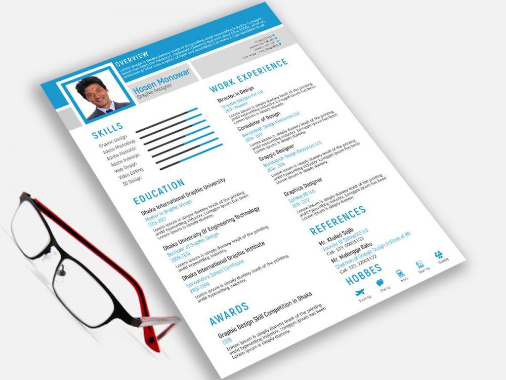 Free Resume Design Template