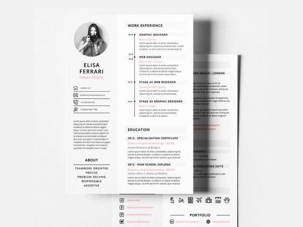 Free Creative Resume Template