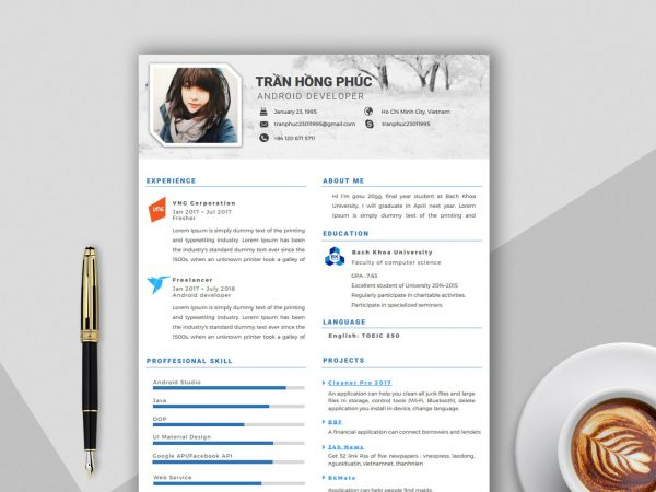 Free Resume Template in Word Format