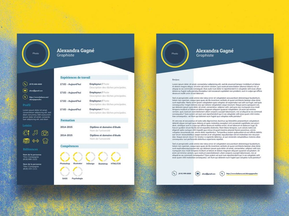 Trendy Modern Resume Cv Template Free Download Resumekraft