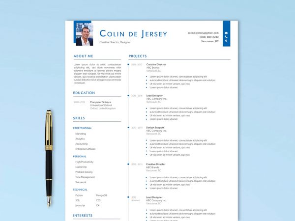 Executive Resume Template
