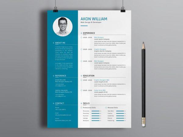 Free Modern Resume