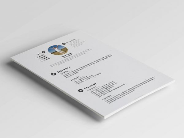 Free Resume Template in PSD Format