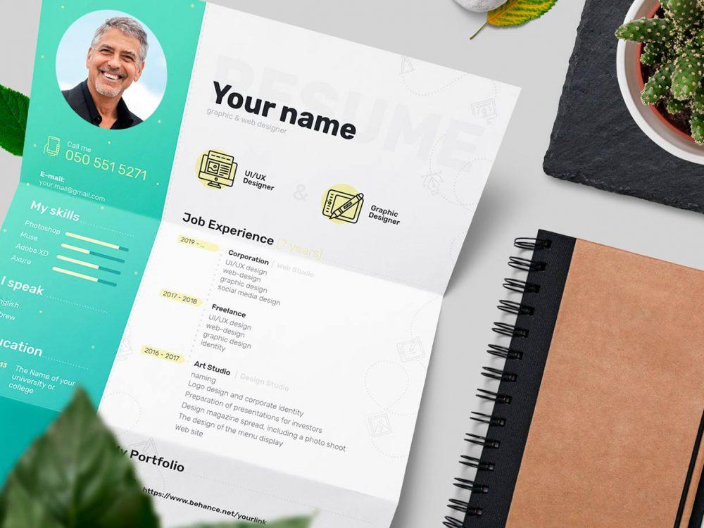 Free Resume Templates Photoshop