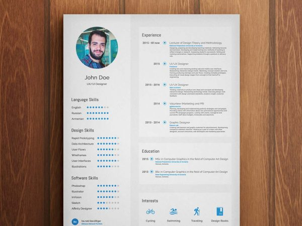 Free Resume Templates Download