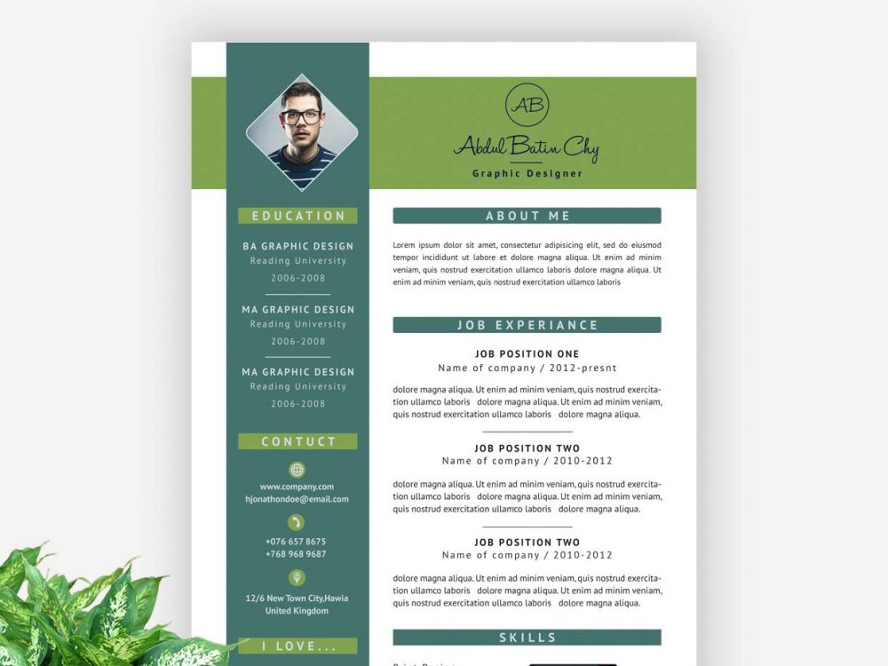 Modern Resume Template Free Download - ResumeKraft