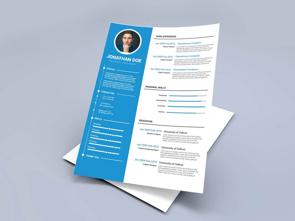 Modern Free Resume Template