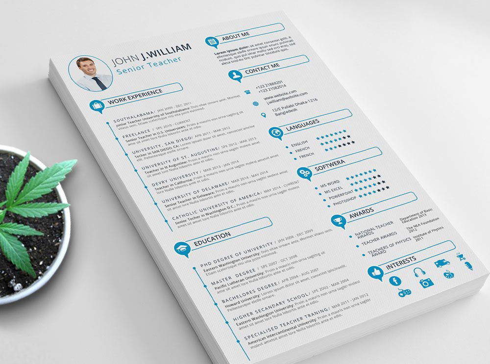 Best Professional Free Resume Template Resumekraft