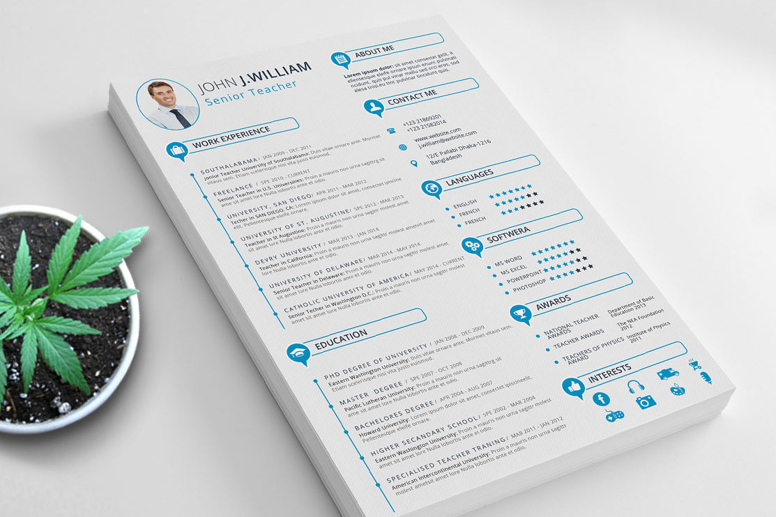 best professional free resume template