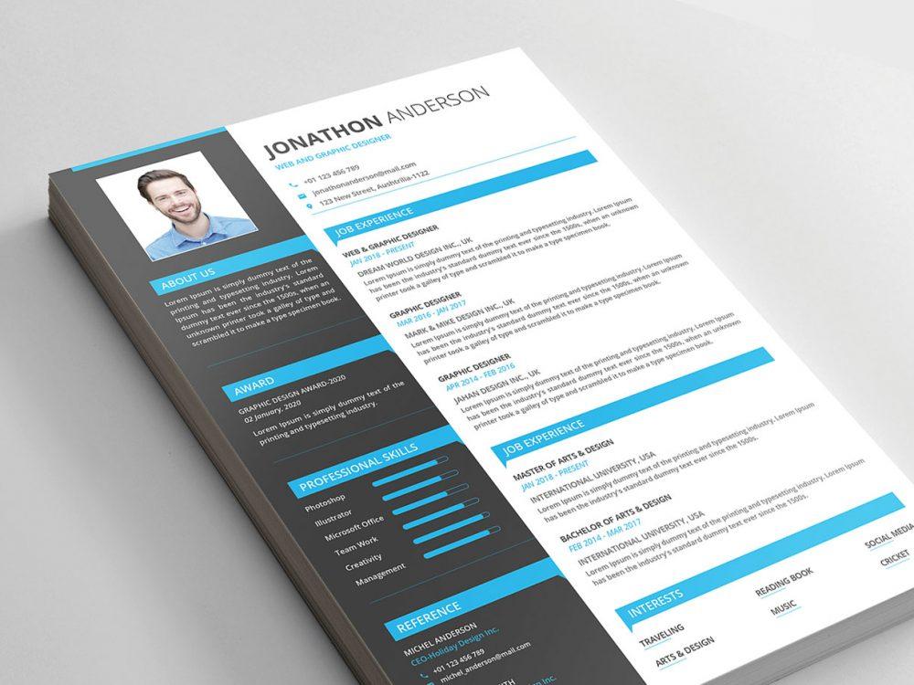 Resume Templates Modern Free Download Resumekraft