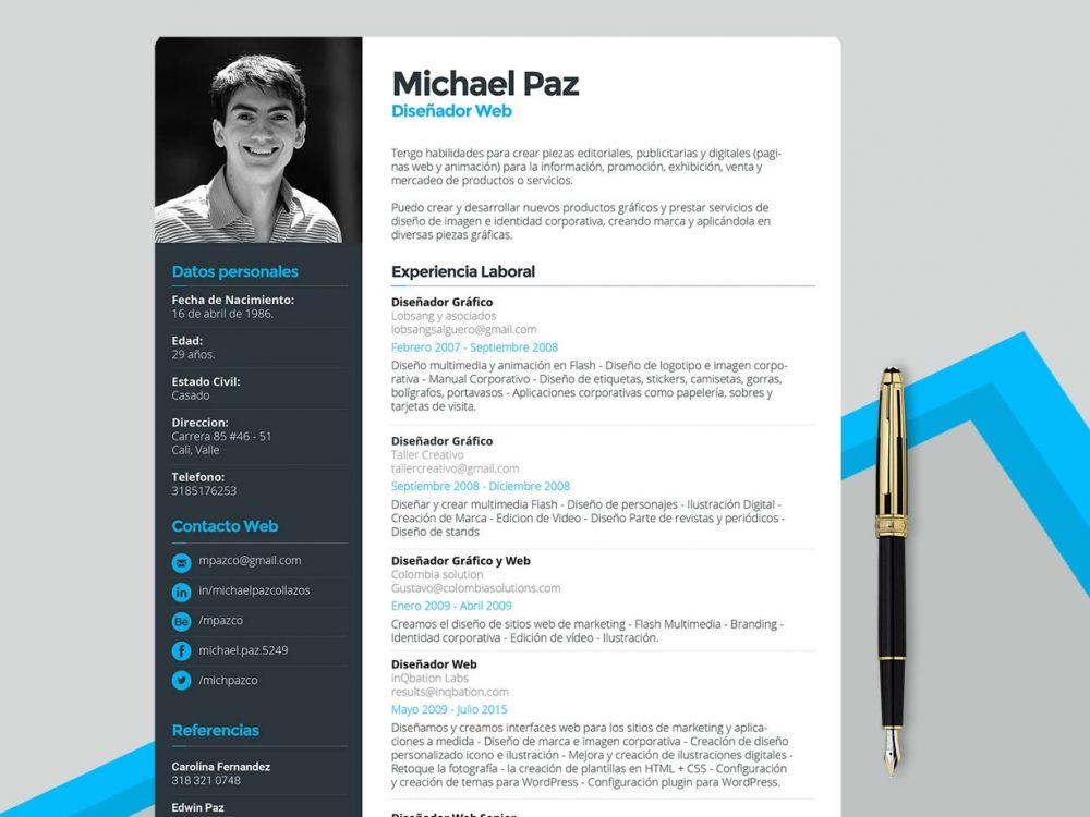 Clean Resume Template Free