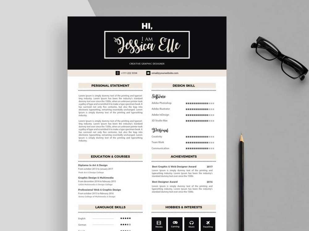 Editable CV Templates Free Download - ResumeKraft