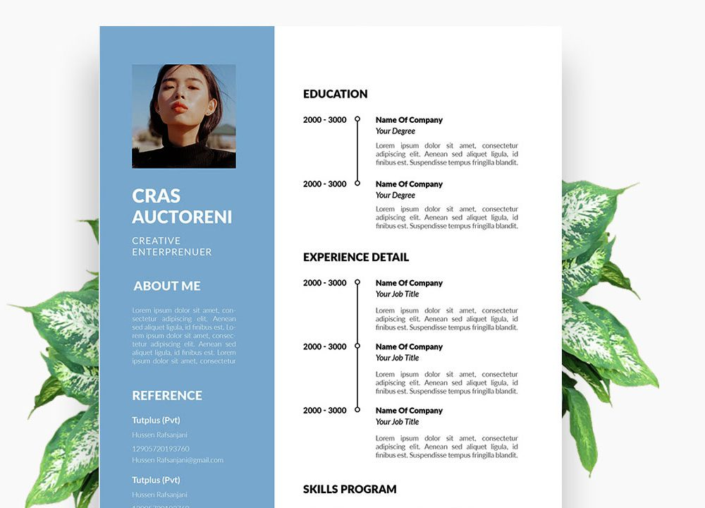 Simple Modern Word Resume Template