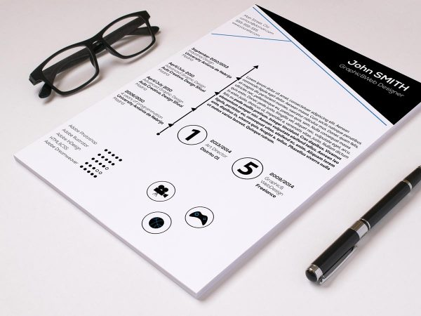 Attractive Resume Template Free Download
