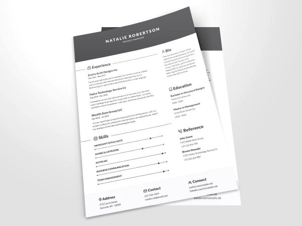 Best Free Infographic Resume Tempaltes 2020 Resumekraft