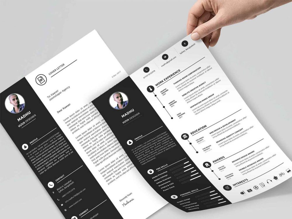 Personal Resume Template Free Download