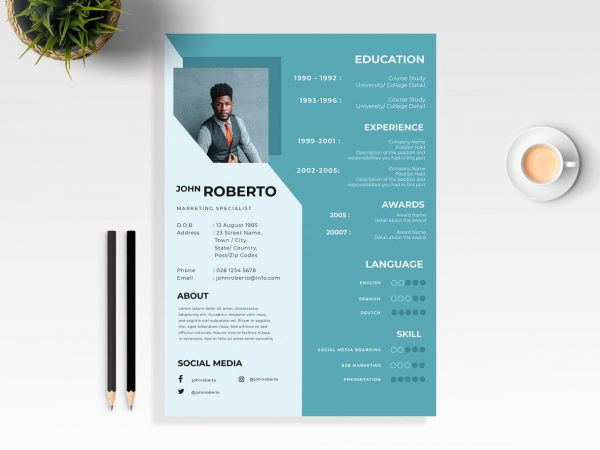 Modern Resume Free Template