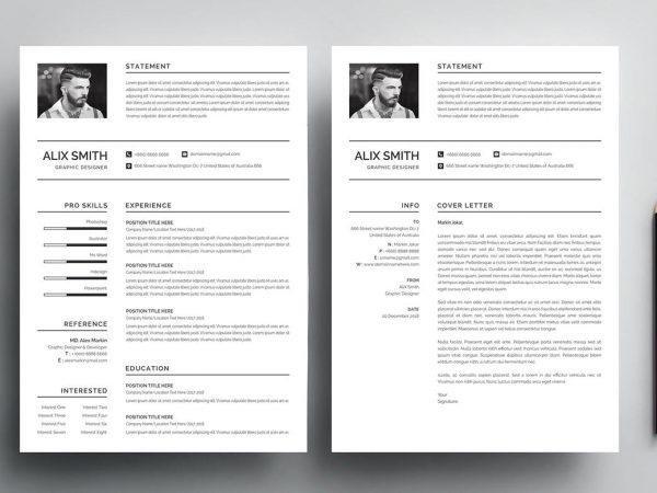 Free Resume Templates in Illustrator Format 2019 | ResumeKraft