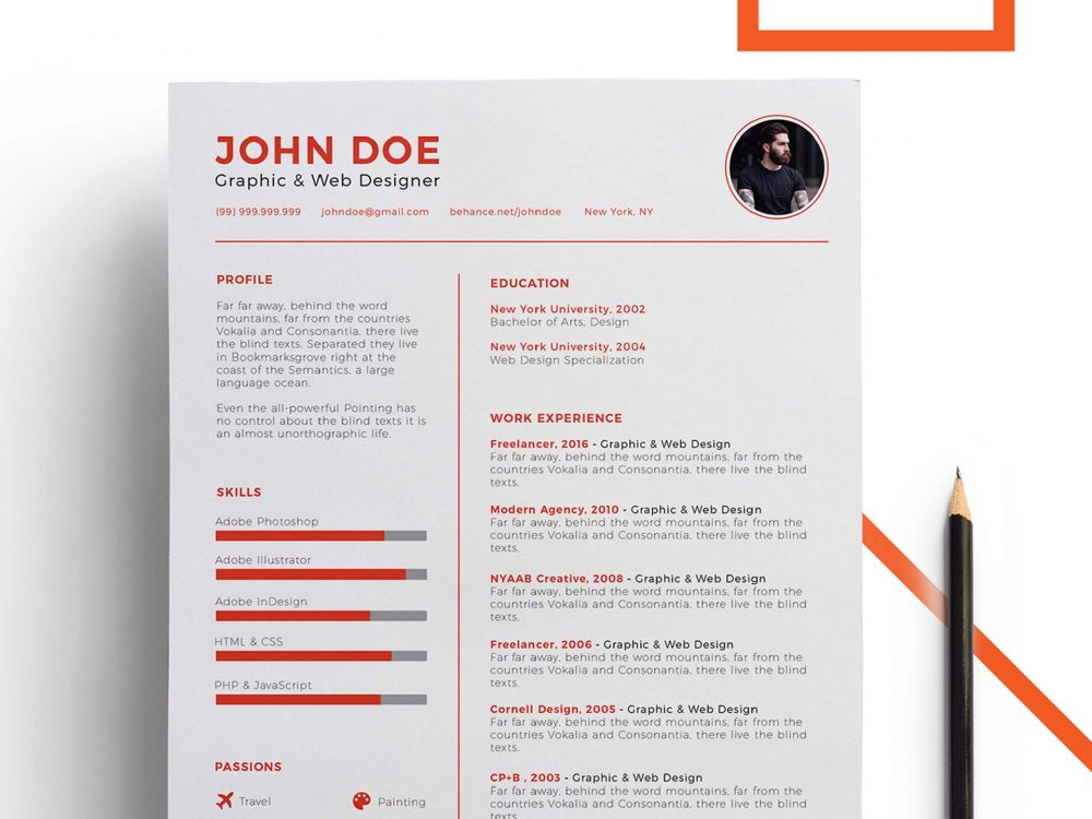 Free Power Point Resume Template - ResumeKraft