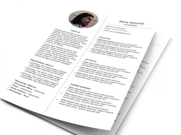 free resume  u0026 cv templates in photohsp  psd  format 2019