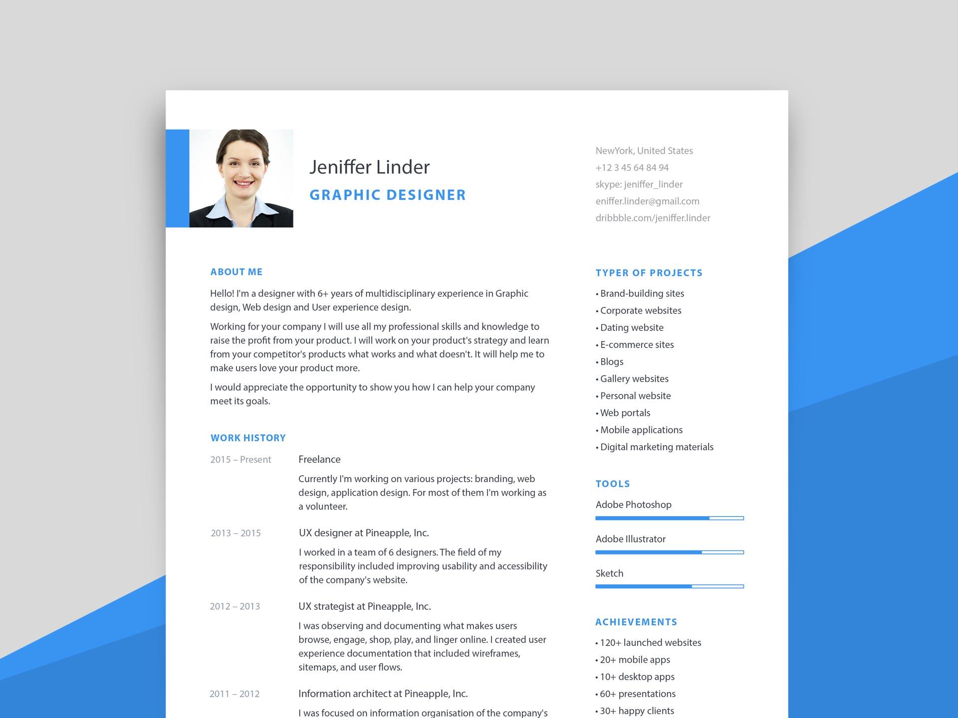 Cover Letter Psd from resumekraft.com