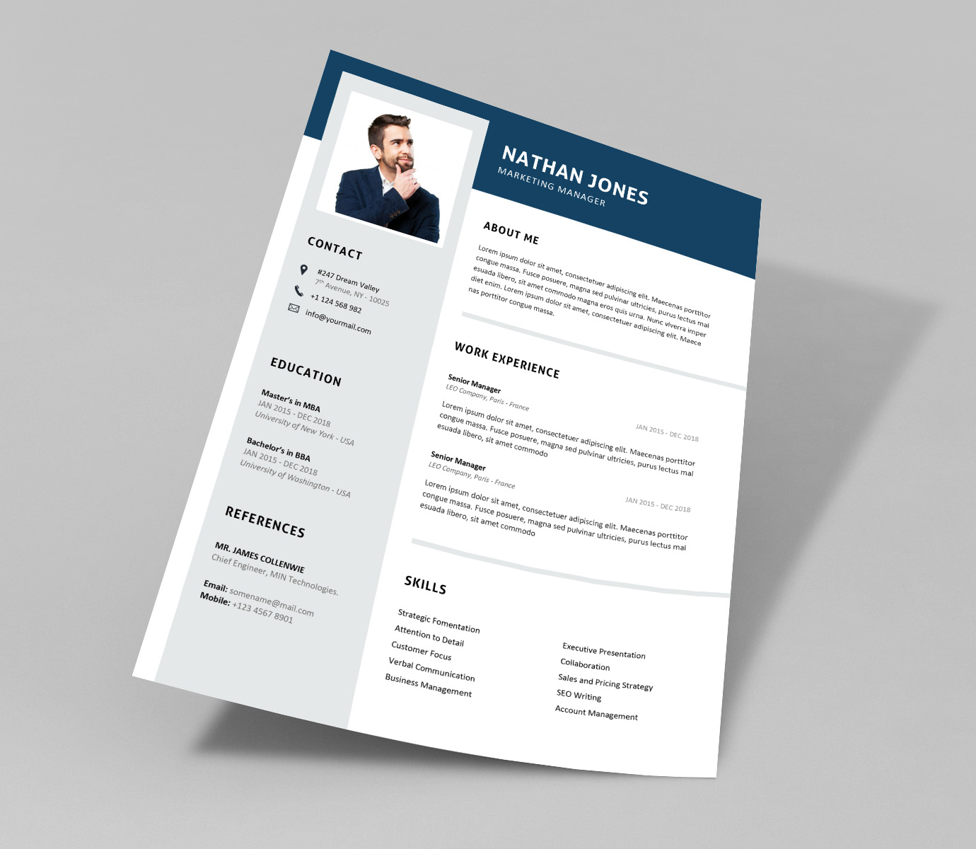 Champ Word Resume Template Resumekraft