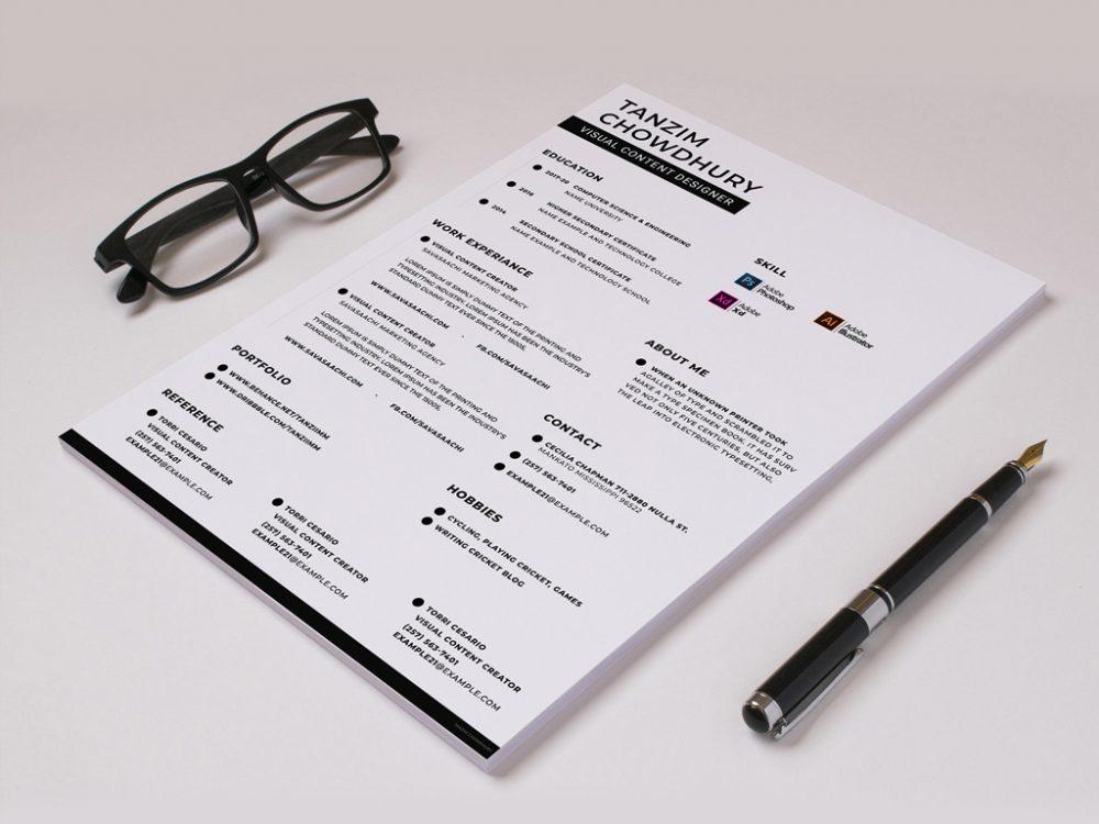 Trendy Resume Template