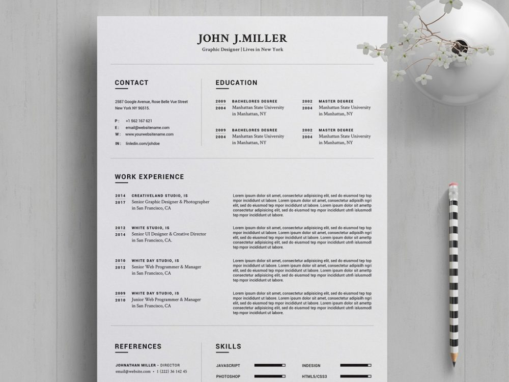 Free Resume Template In Word 2020 Year Resumekraft
